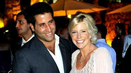 Ali Elamine and Sally Faulkner when they were a couple.