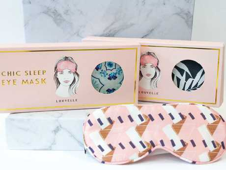 Eye masks are now part of the Louvelle offering.