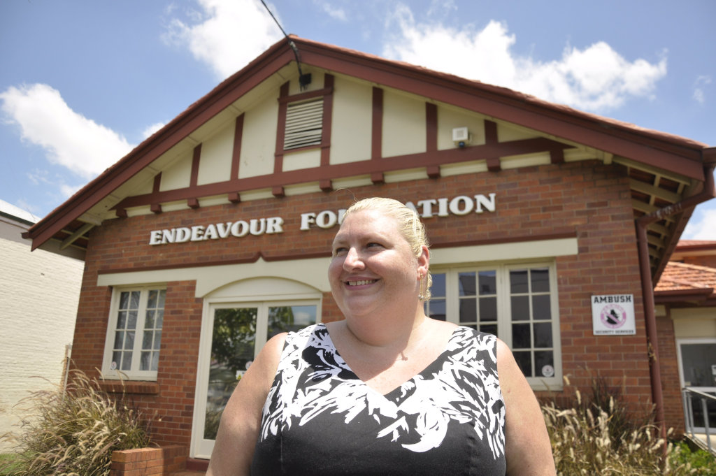 Endeavour Foundation's Tanya McCulkin.