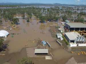 Flood water recedes at Hastings Deering