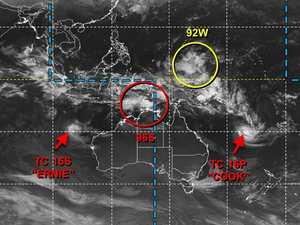 BOM watch two cyclones, two lows surrounding Australia