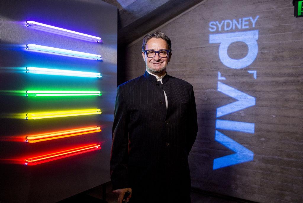 Vivid Sydney Creative Director Ignatius Jones.