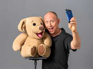 David Strassman and his crazy puppets coming our way
