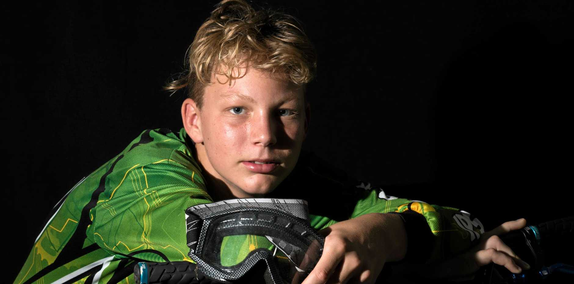 Fernvale BMX rider Jordan Press will compete at the Australian Titles later this year.