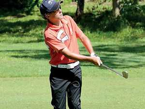Golf's young guns to fire on Yeppoon course