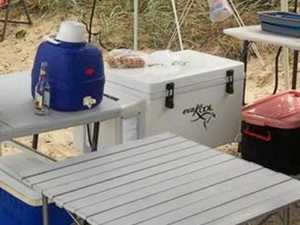 Inskip fridge theft 'not bloody Australian'