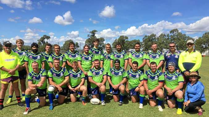 WINNERS: The Border Rugby League Bushrangers came out on top at the South West Carnival at Miles on Saturday.