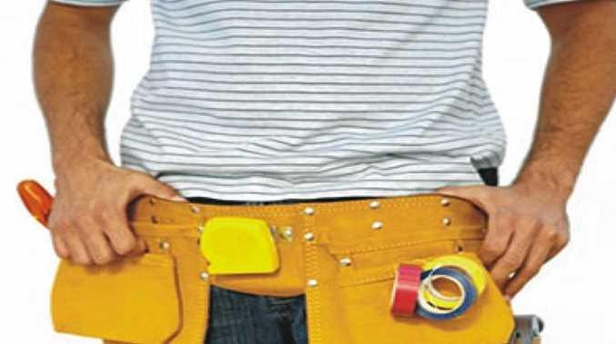 tool belt, tradesman
