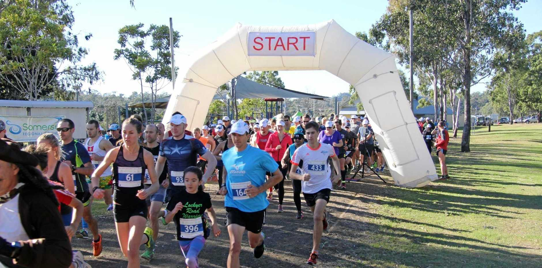 HIT THE GROUND RUNNING: This year's Rail Trail Fun Run will end with a family-friendly festival.