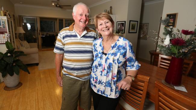 Kevin and Pamela Dodd at their retirement village in Springwood.