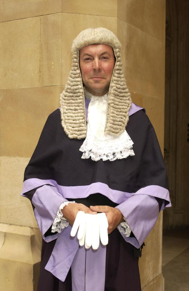 Judge Durham Hall QC was disciplined because of misconduct at the trial