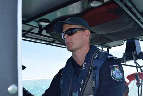 Hervey Bay Water Police Sergeant Paul Bacon.