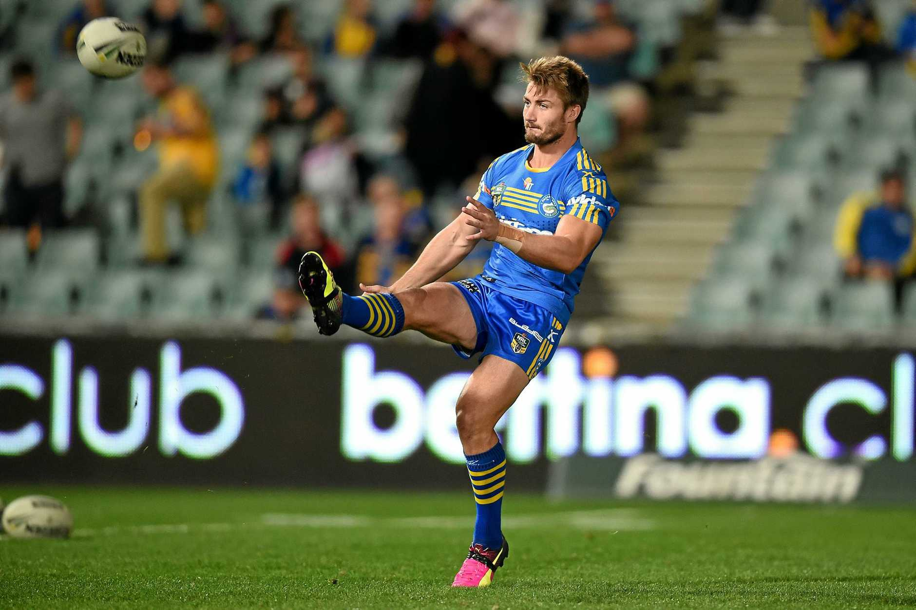 Kieran Foran during his time with the Eels.