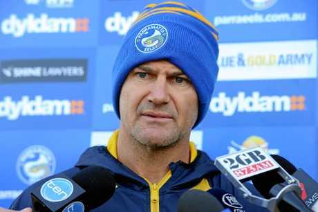 Parramatta Eels coach Brad Arthur.