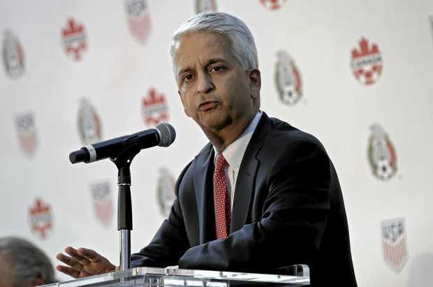 US Soccer Federation president Sunil Gulati.