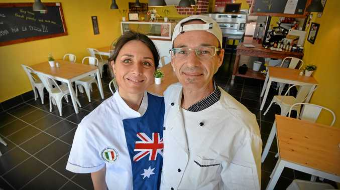 Ketty and Simone Simonetto specialise in real Italian pizza, and have opened Mamma Mia La Pizza in Mooloolaba.