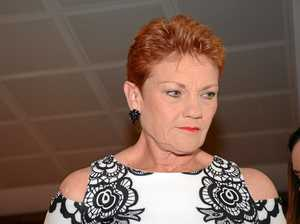 Pauline Hanson's chocolate eggs in the wrong basket
