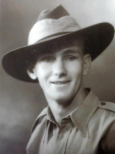 Private Billy Daley served in New Guinea in the Second World War.