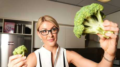 Tamahra Moore found a redback spider in her broccoli she bought from Coles North Ward.