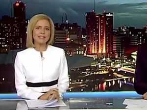 Channel 7 news reader drops F-bomb live on air