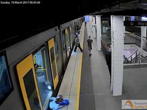 CCTV: More children falling between trains and platforms