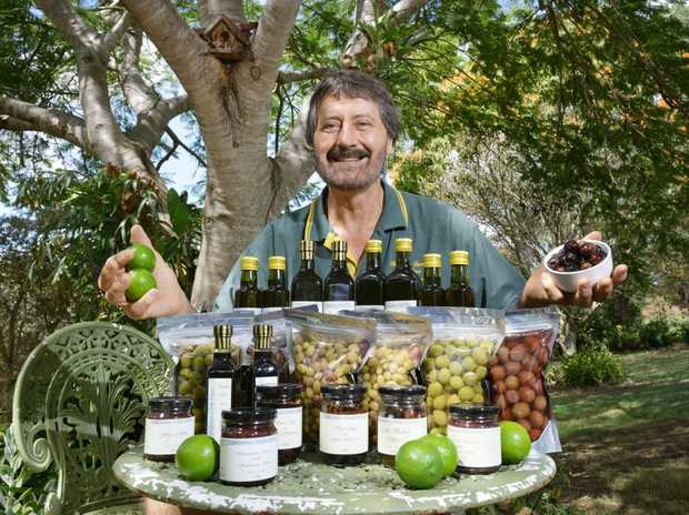 Bernard Mahon co-owner of Watercress Creek Olives and Limes.