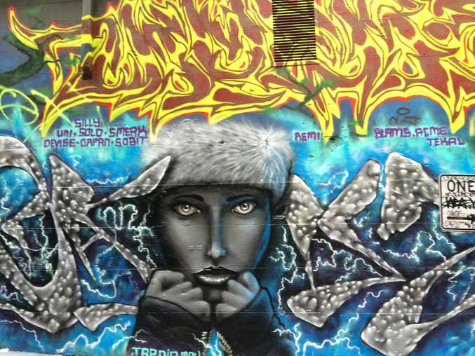 Hosier Lane street art is a must-see.