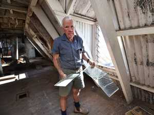 Heritage listed M'boro building targeted by vandals