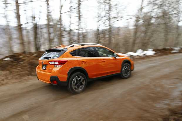 ALL-PAW FUN: Subaru's revised XV small SUV has rugged good looks and improved off-road performance, plus a raft of new changes to make it a standout in its segment