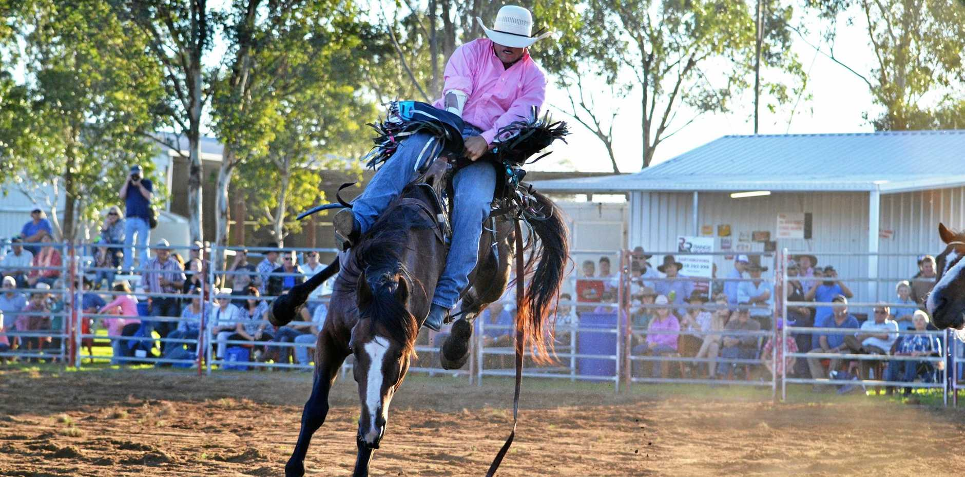 RIDE 'EM COWBOY: The Brymaroo Rodeo is back with a bang this year.