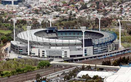 The Melbourne Cricket Ground or MCG as it's known is just one of Melbourne's landmarks.