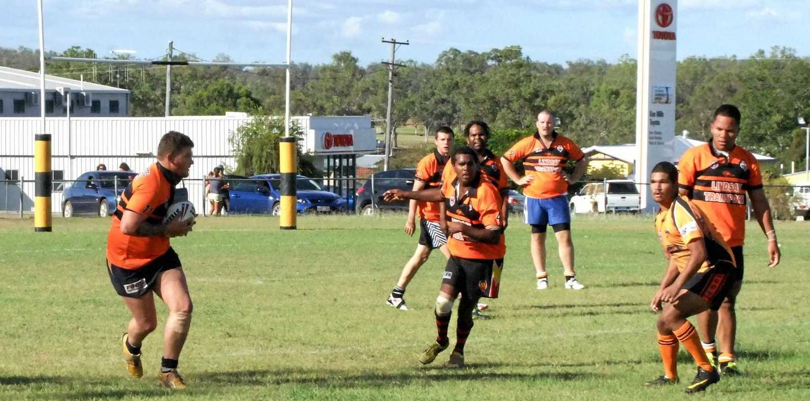 GAME ON:  The first North Burnett rugby league game for the season is in two weeks.