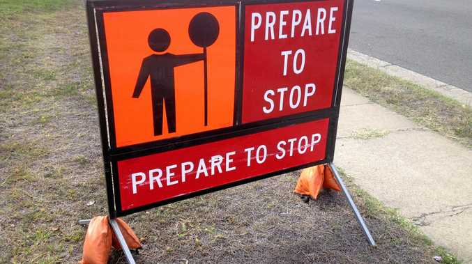 Roadworks along the Bruce Hwy are expected to cause minor delays for motorists.
