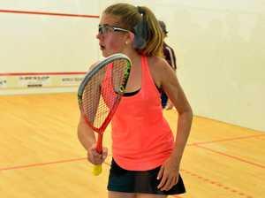 Shaking off nerves ahead of Trans-Tasman squash comp