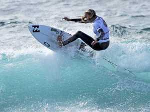 Multiple world champ lauds eliminated Coast surfers