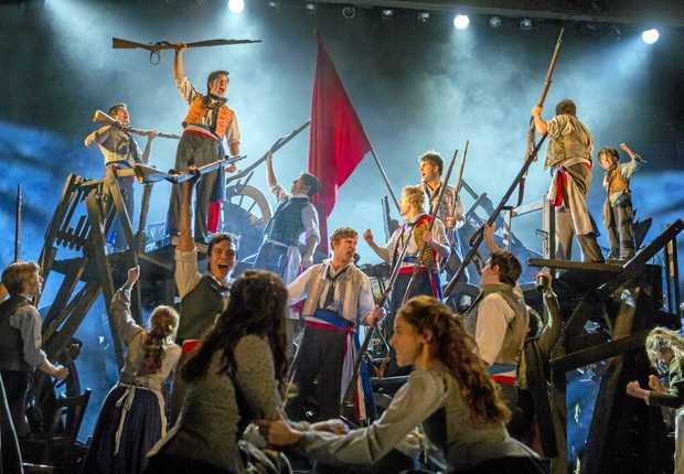 Les Miserables Tour Auditions