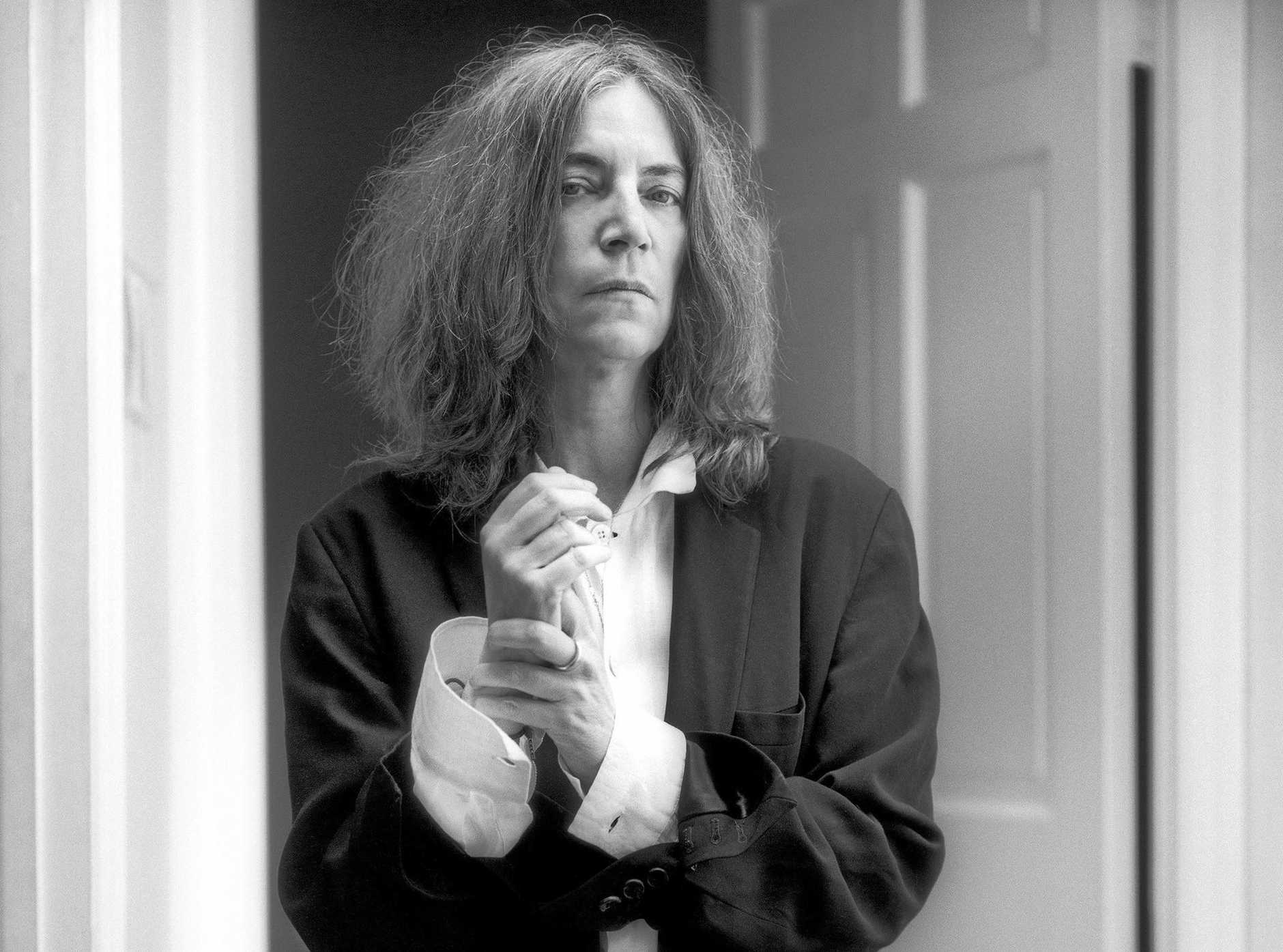 HEADLINER: American punk singer songwriter Patti Smith will close the first night of Bluesfest tonight.