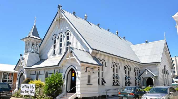 St Pauls Uniting Church Mackay  Photo Tony Martin / Daily Mercury