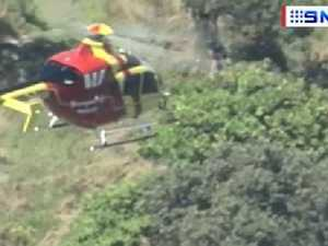 Chopper sent to save girls washed off rocks