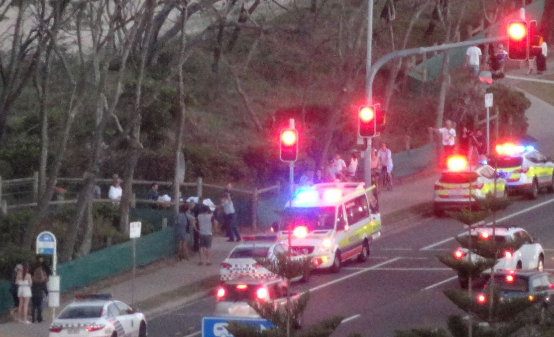 A woman in her 70s drowned at Alexandra Headland this evening