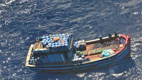 FRESH CATCH: A Vietnamese fishing vessel and its crew of 15 men suspected of illegally fishing near Saumarez reef in the Coral Sea Commonwealth Marine Reserve has been apprehended.
