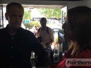 Bill Shorten meets Lismore residents