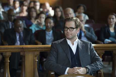 Michael Weatherly as Dr Jason Bull in the TV series Bull.