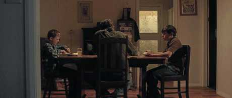 ACTION: A still from the film Shooter.