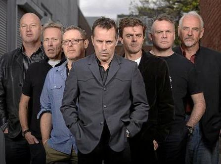 STILL MAKING MUSIC: Mark Seymour out the front of Hunters and Collectors. His new band, Mark Seymour and the Undertow, is headed for Brisbane.