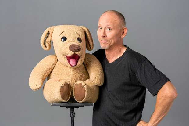 LOT OF LAUGHS: Comedian and ventriloquist David Strassman will perform at Hervey Bay RSL and the Brolga Theatre in May.