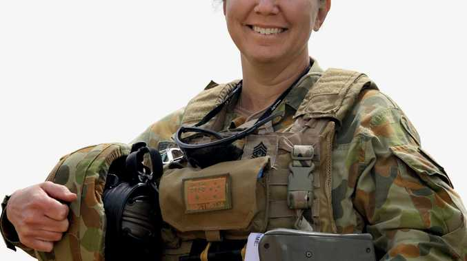 Regimental Sergeant Major Joint Task Force 633, Warrant Officer Class One Kim Felmingham.