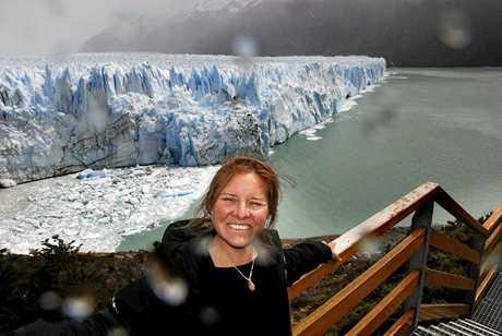 The stunning Perito Moreno Glacier in Argentina.