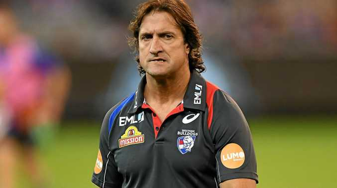 Luke Beveridge of the Bulldogs