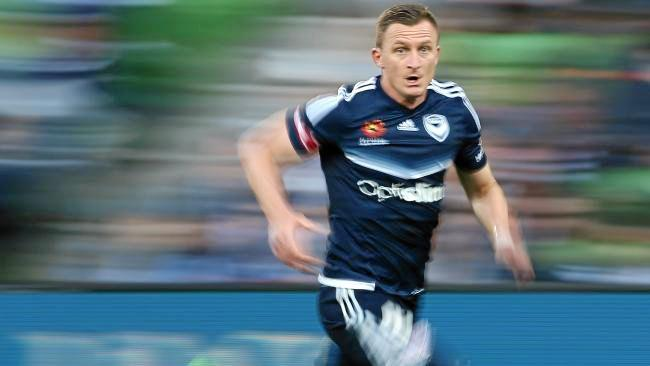 Victory's Besart Berisha will be eager to find the back of the net. Picture: George Salpigtidis. Source: News Corp Australia